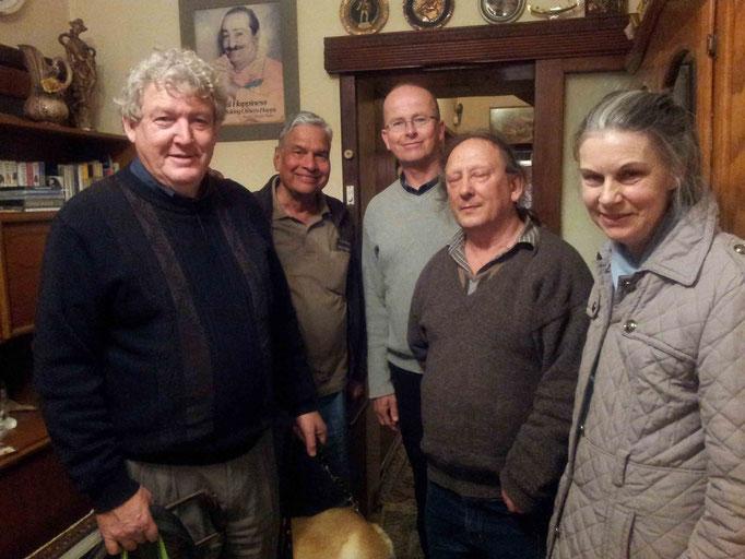 L-R : Ian, Shridhar, David, Jim & Pamela
