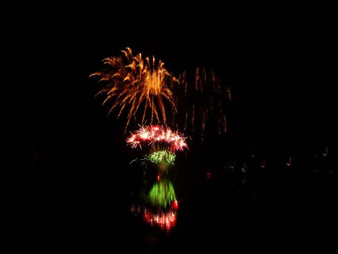 Grandioses Feuerwerk zum Abschluss