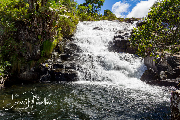Matarazi Falls in Nyanga National Park