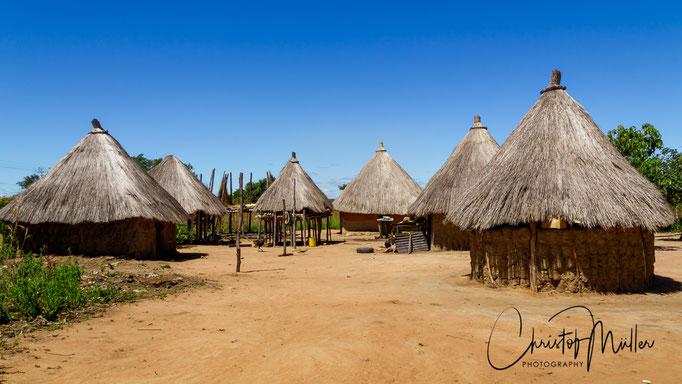 Traditional Village in Zimbabwe