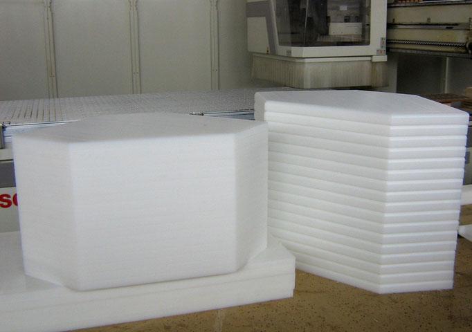 Taglieri / pianali in polietilene accessori per banchi frigo