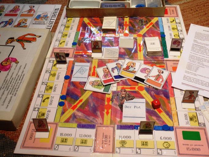 Spielplan mit Innenkreis