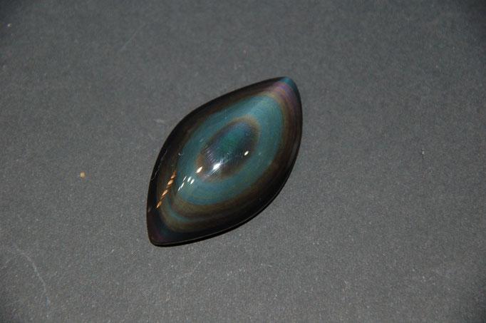 Cabochon Obsidienne Œil Céleste