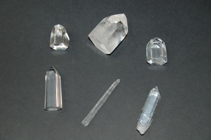 Pointes de Quartz (Cristal de Roche)