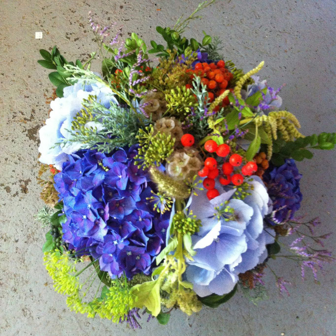 Blumenstrauss mit Hortensie