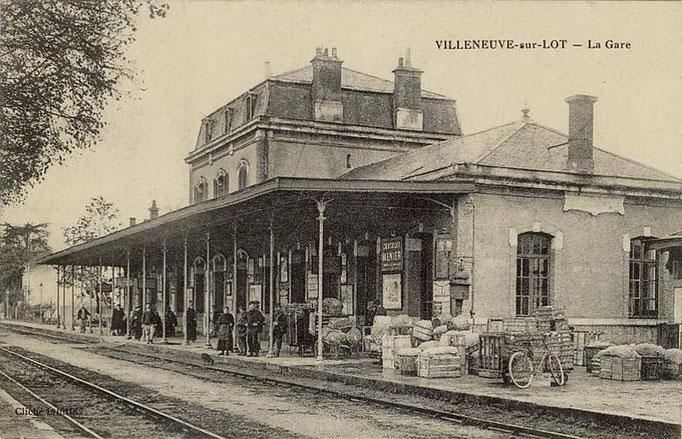 Villeneuve-sur-Lot - La gare.