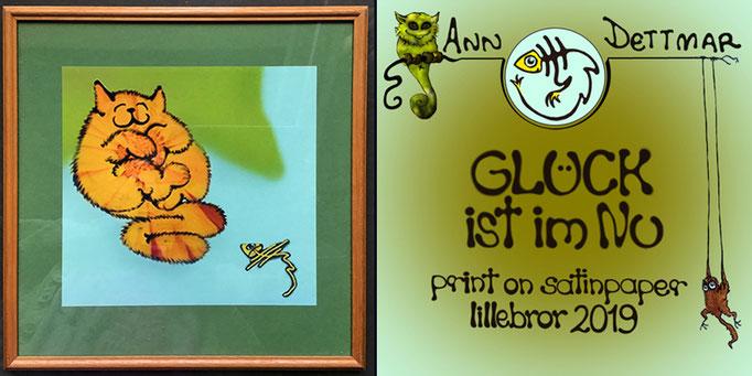 Holzrahmen, 30 x 30cm, mit Glas, 50,-€