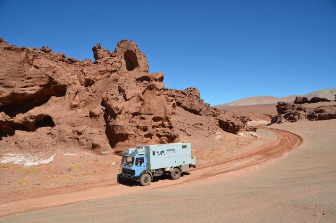 Ruta de la Puna in Nord-West Argentinien