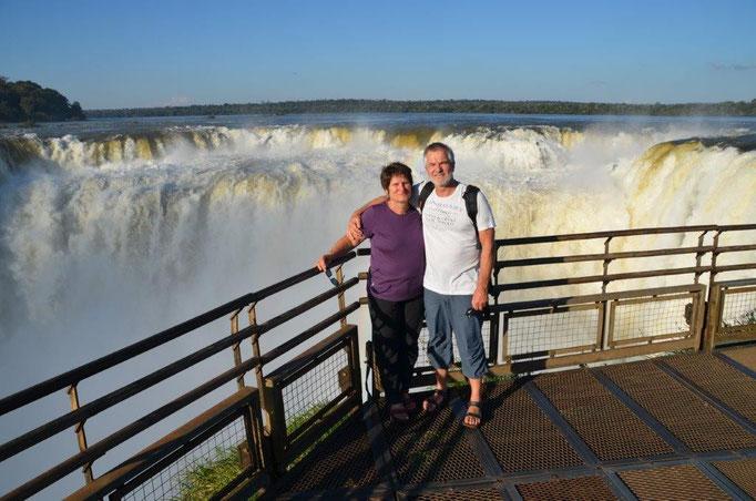 Die Wasserfälle von Iguazu in Argentinien