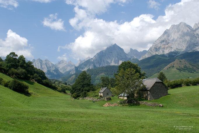 Vallée d'Ossau, Pyrénnées