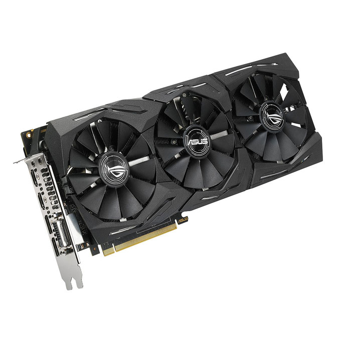 ASUS GeForce GTX 1080 Ti 11 GB ROG-STRIX-GTX1080TI-O11G-GAMING