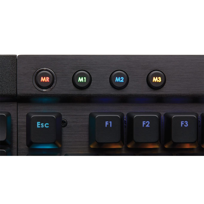 Corsair Gaming K95 Mec RGB AZERTY Noir - Switches Cherry MX Brown