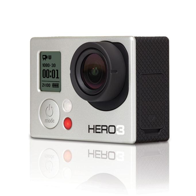 GoPro HERO 3  White Edition 2014 Boîtier Slim