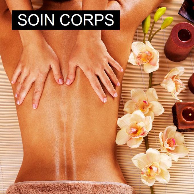 Soins du corps, modelage, Amaincissement, huile de massage