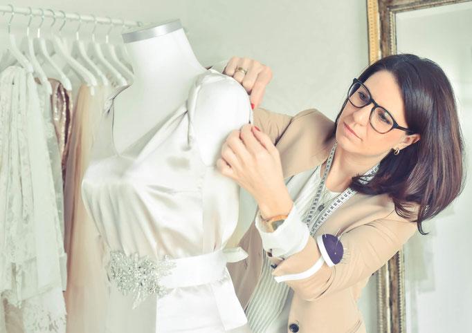 maßgeschneiderte Brautkleider Mainz Atelier VON EIDEN