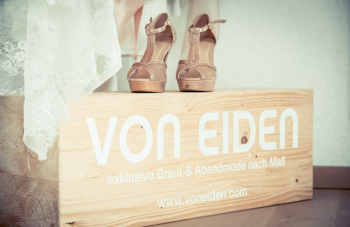Traumbrautkleid maßgeschneidert Frankfurt Atelier VON EIDEN