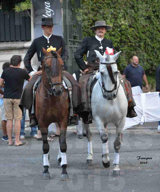 Nuits Équestres de la Féria de Béziers 2015 - défilé à cheval dans les rues de Béziers