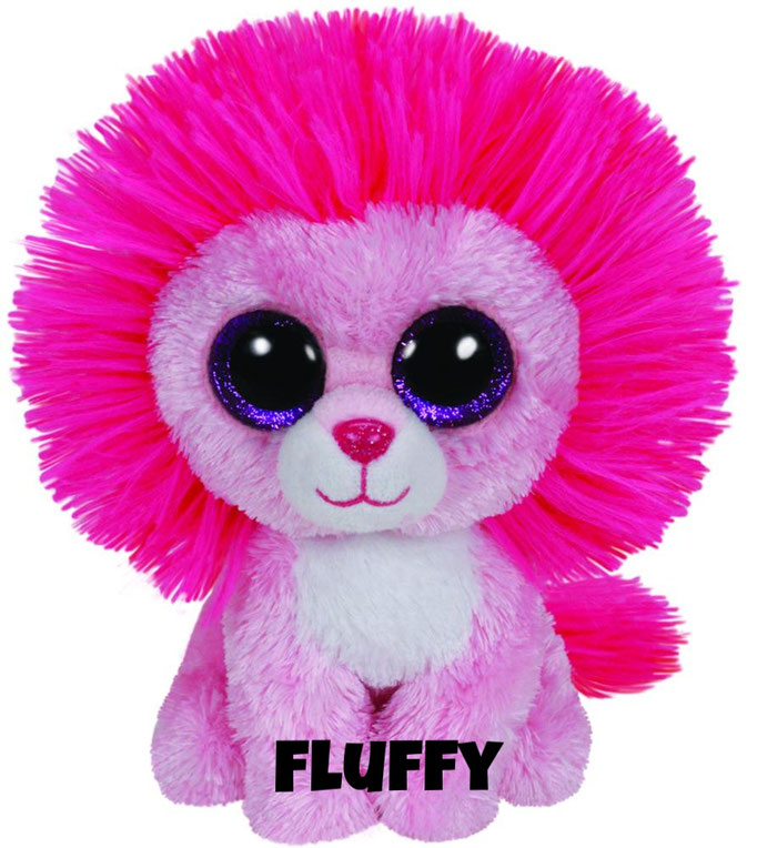 "Fluffy is op 23 februari jarig. ""My hair always gets stuck in a brush / Just sing me a song to make me blush!"""