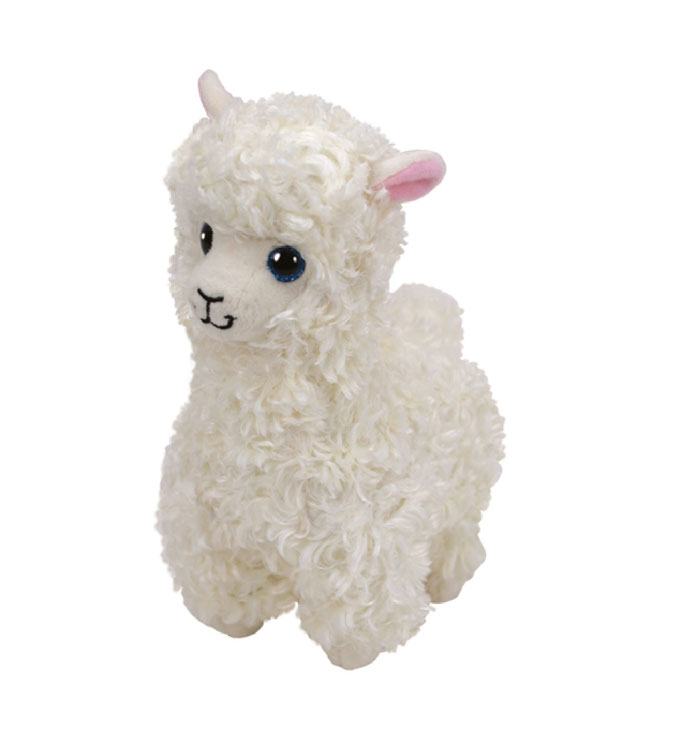 """Lily hat am 24. November Geburtstag. """"I'm a little llama who was born in sunny Peru And eating grass on a mountainside Is what I love to do!"""""""