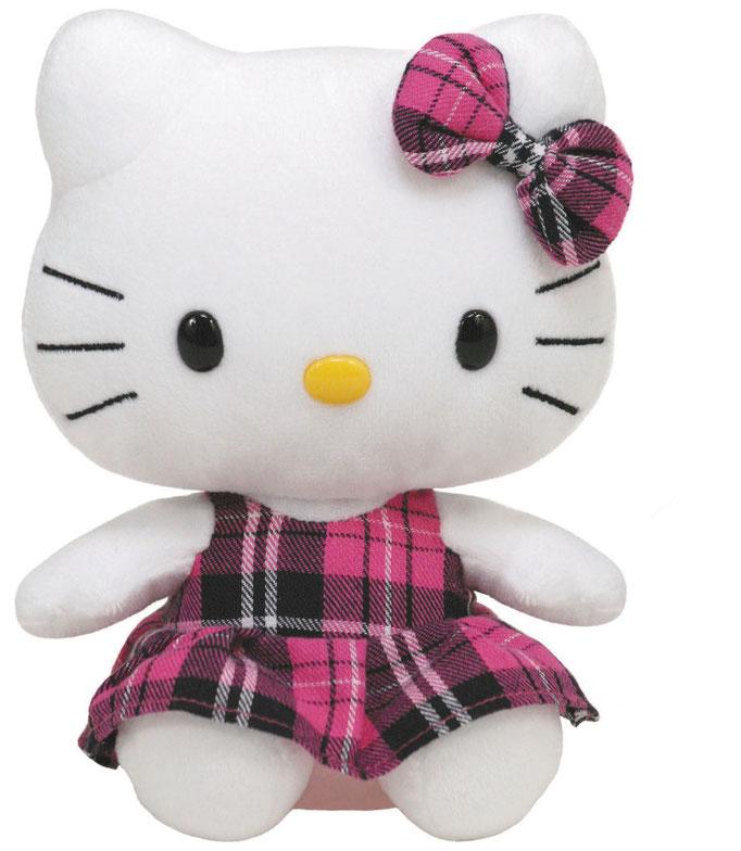 Hello Kitty Schottenrock pink