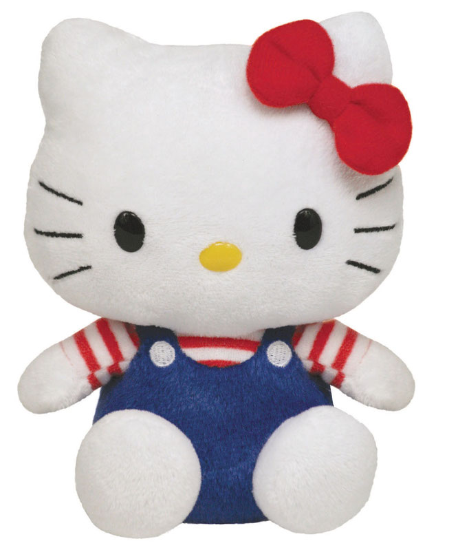 Hello Kitty Overall blauw / rood wit