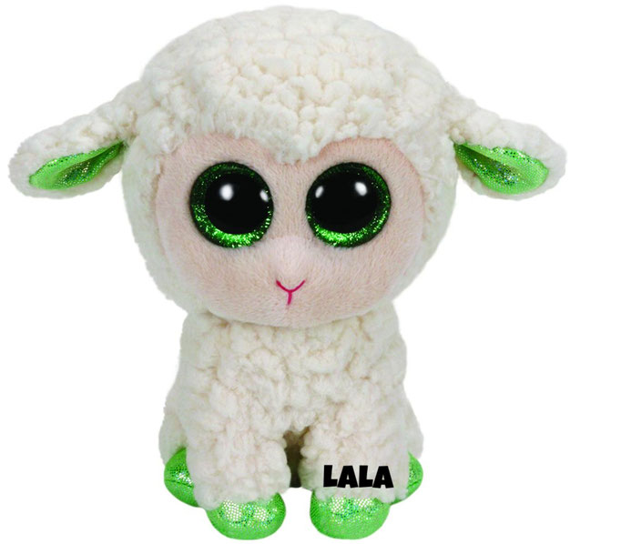 """LaLa hat 21. Mai Geburtstag. """"The sunny pasture's where I play / Eating grass throughout the day!"""""""