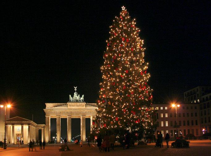Jak co roku przed Brama Brandenburska