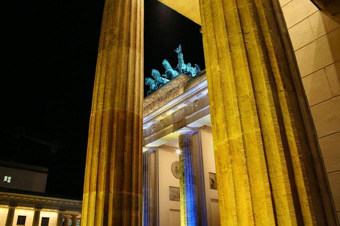 Brama Brandenburska nieco inaczej