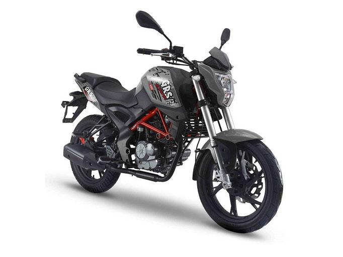 KSR MOTO LIMITED EDITON GRS 125 GUNMETAL GREY