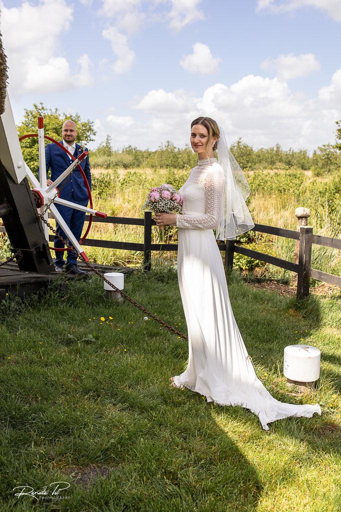 Bruid Hilde & Bruidegom Ties