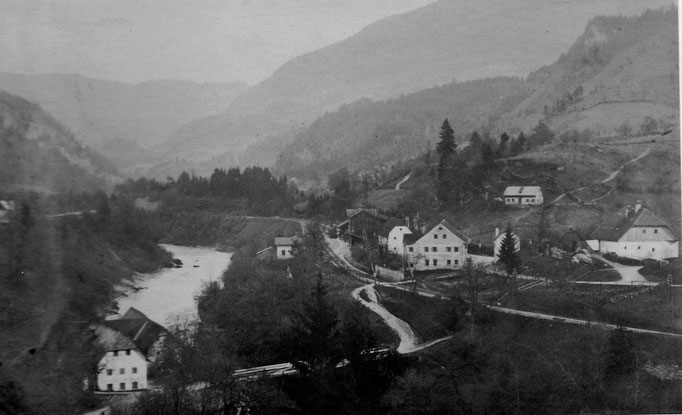 """Die """"alte"""" Ennsbrücke"""