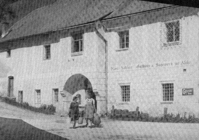 """Die im Stausee verschwundene """"Aschach-Taverne"""""""
