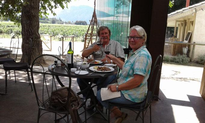 Mittagessen in Santa Cruz