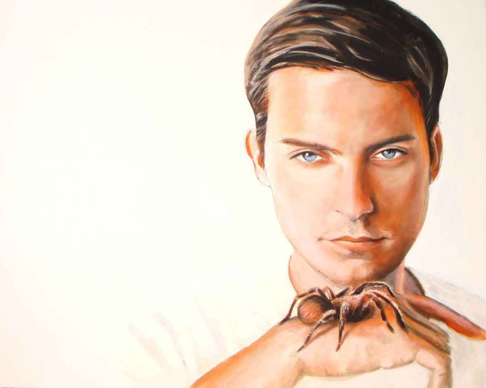 What's Up With You Spiderman, Vol. 2 / Arcyl auf Leinwand / 100 x 80 cm /