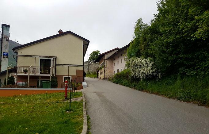 Kobarid /Karfreit im Jahr 2018.