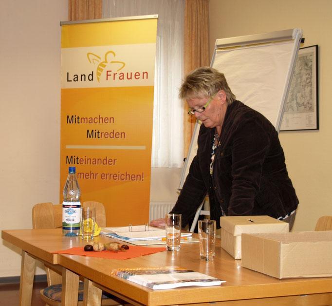 Margret Grün verabschiedet sich als 1. Vorsitzende