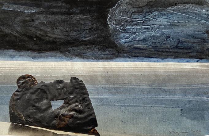 Grain de nuit, 28,5 x 44,5 cm, 2020