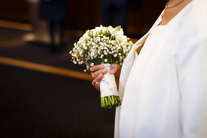Brautstrauß-Braut-freie Trauung
