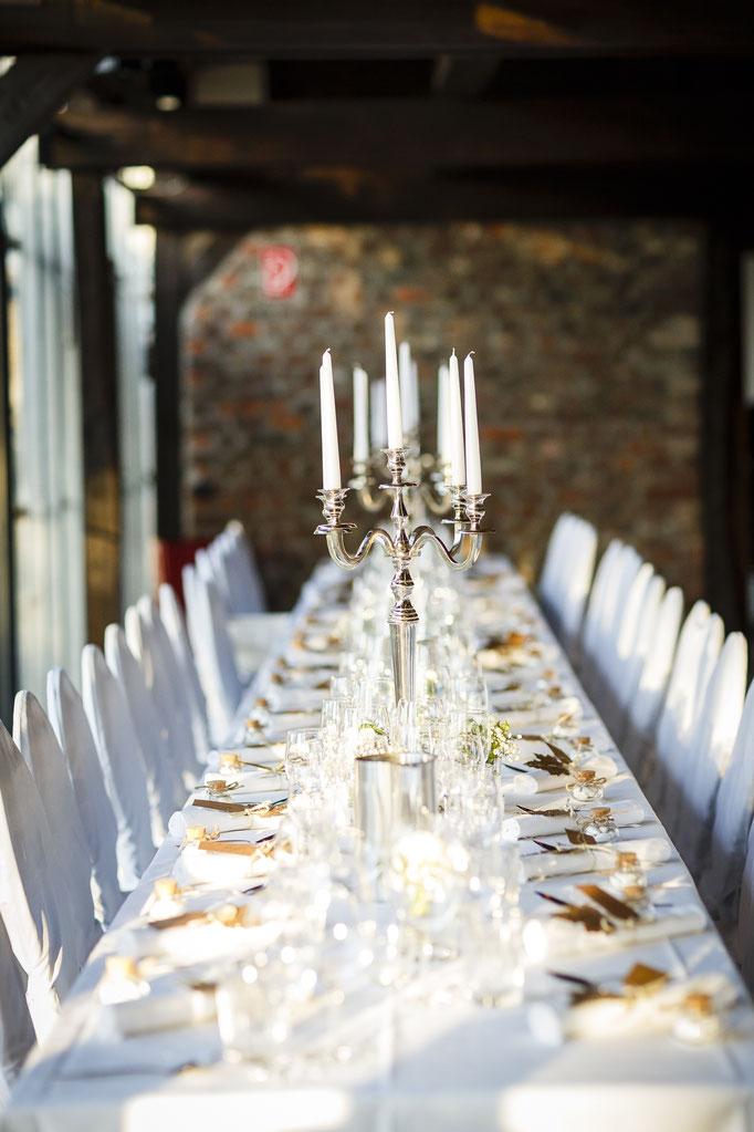 Tafel-Hochzeit