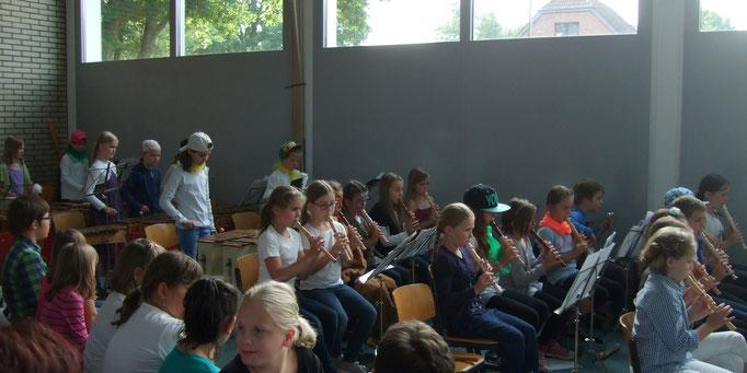 Orff-AG und Flöten-AG: 3. Schuljahr