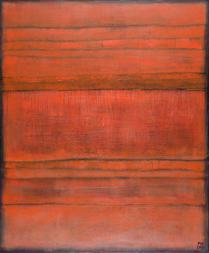 No. 80 - Mischtechnik Acryl auf Leinwand 100x120 cm (2016)