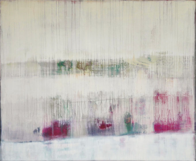 No. 100 Mischtechnik Acryl auf Leinwand 120x100 cm (2017) - verkauft -