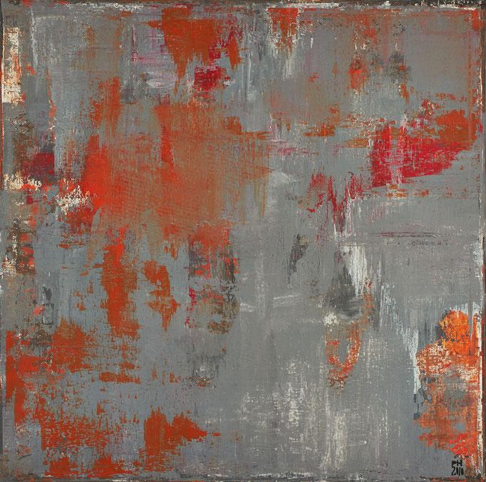 No. 11 - Mischtechnik Acryl auf Leinwand 100x100 cm (2010)