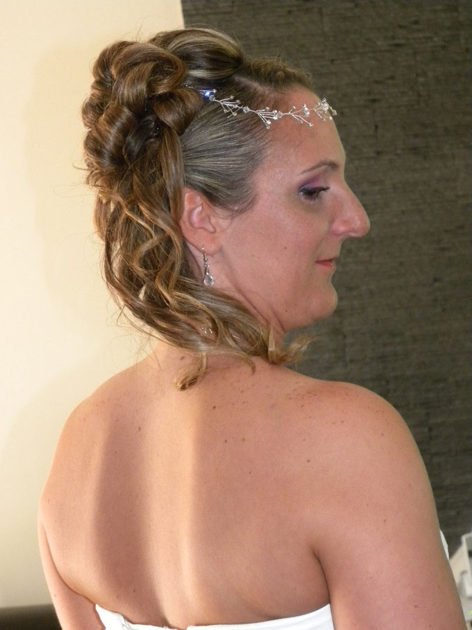 Mise en beauté de la mariée, beauté événementielle L'Instant Beauté de Noé