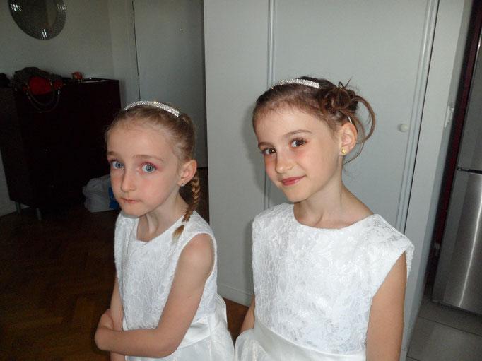 Coiffures enfants. Mise en beauté de la mariée, beauté événementielle L'Instant Beauté de Noé