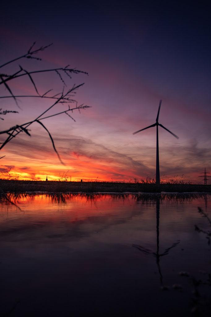 W93 - Sonnenuntergang in Birk