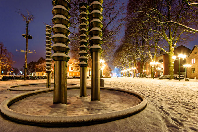 W19 - Lindenplatz im Winter
