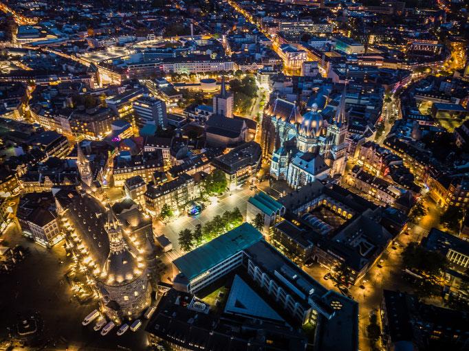 #63 Aachen by night