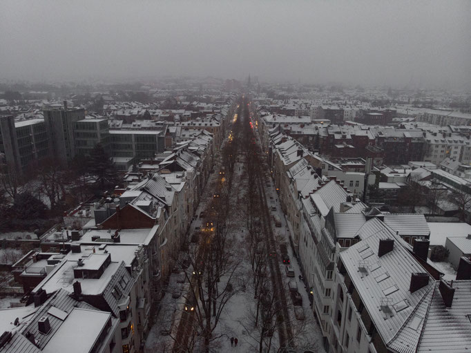 Oppenhofalle im Winter