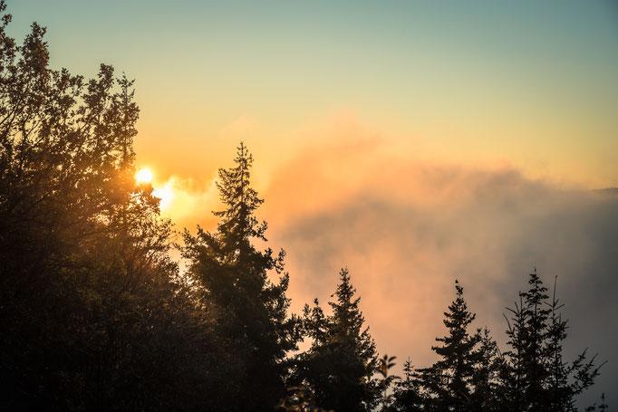Sonnenaufgang in Nideggen